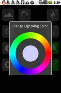 Lightning Bug - Sleep Clock : 自分の好きな色を選択