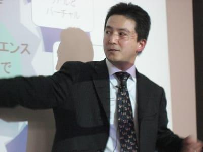熱く面白く、Androidの本命端末を語るデロイトトーマツコンサルティング株式会社の八子知礼氏