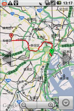 My Tracks : 全移動の図