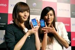 Xperiaは4月に発売予定。「世界でも早いタイミングでの発売になる」(NTTドコモ)という。