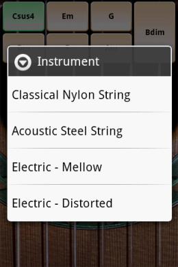 Solo : 音色の種類