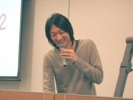 ARを「お金になる技術にしたい」という塚田氏。この発表の他に「Julius」という音声認識サーバーを使った検索で、地図を表示するシステムの紹介があった。