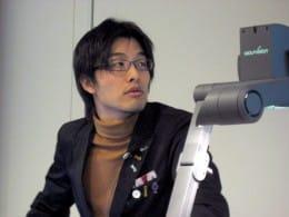 「Androidはどんな生活家電に入ってきても面白そう」語る岩佐氏。