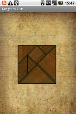 7つの図形からなるTangram