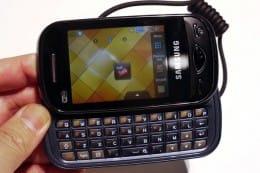 コンパクトでいつでもメッセージが送れる「Samsung chat」