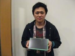 永井秀和氏は、CADもLinuxもわからないところから始め、製品化するところまで頑張りました