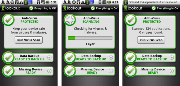 セキュリティ(AntiVirus) & ウイルス対策 無料:ウイルススキャン