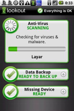 セキュリティ(AntiVirus) & ウイルス対策 無料:アプリによる感染を防げ!