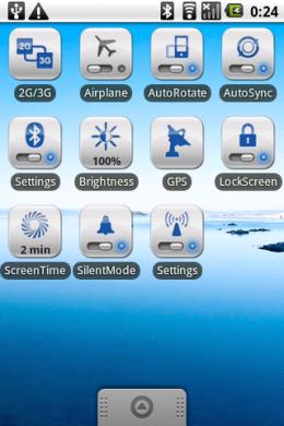 OnOff Widgets Pack: 11種類の中からお好みでショートカットをホーム画面に設置。