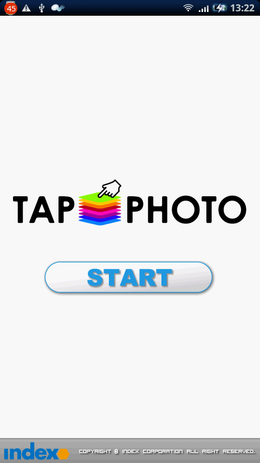 TapPHOTO:TOP画面