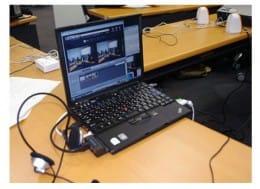 Ustream中継はノートパソコンとビデオカメラがあれば、誰でも簡単にできる