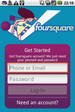 Foursquare:最近なにかと話題のサービス