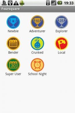Foursquare:バッジを集めることもこのサービスの楽しみ方のひとつ