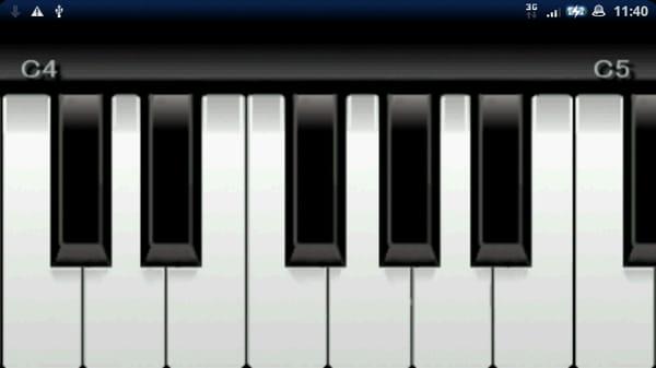 MiniKeyboard:鍵盤をタッチするだけで簡単演奏!
