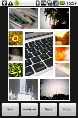 Collage Creator: 自動配置でコラージュ画像ができる!
