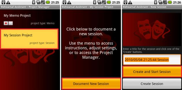 Rehearsal Assistant/VoiceRecrd: こっちは1つのデータで長時間録音したい場合に使えます。