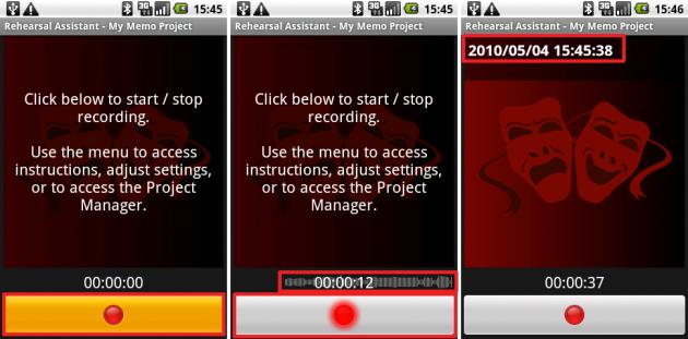 Rehearsal Assistant/VoiceRecrd: ボタンも大きくて押しやすいです。