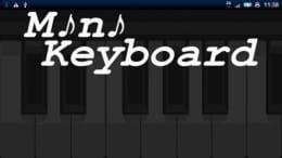 MiniKeyboard:誰でも気軽に楽しめる