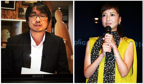 小山薫堂氏もビデオレターで出演(左)女優の伊藤裕子さん(右)