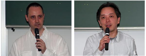 Pikkle(株)デヴィッド・コリエ氏(左) アドビ システムズ(株)太田禎一氏(右)