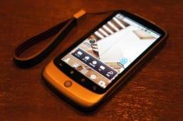 くろぺんさんのメイン端末、Nexus One