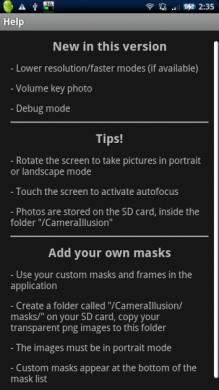 Camera Illusion: 自分でMaskを作ってみるのも楽しそう!!
