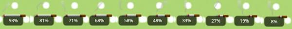 バッテリーウィジェット:煙草