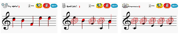 solfeggio:だんだんと音感が鍛えられる
