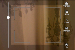 Vignette : ライティングの調整やズーム機能まであって文句なしのカメラアプリ!
