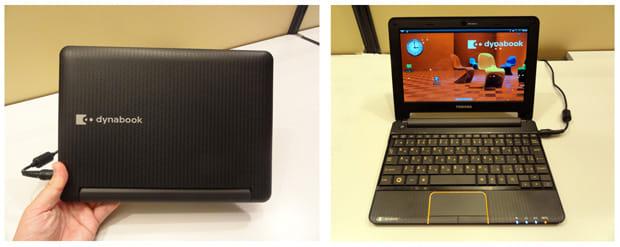 dynabook AZ:ノートPCのような感覚で操作できるAndroid端末