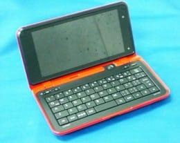 NTTドコモの3機種目となるAndroid端末「LYNX」が発売