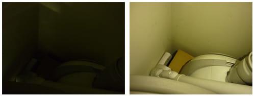 XPERIA FlashLight:薄暗い場所でも、明るく照らしてくれます