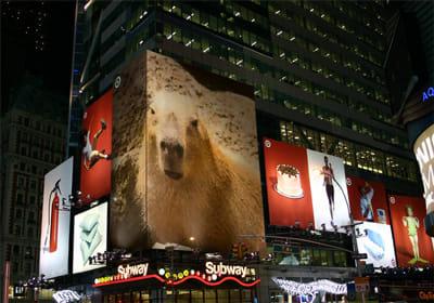 PhotoFunia:NYの街にも…