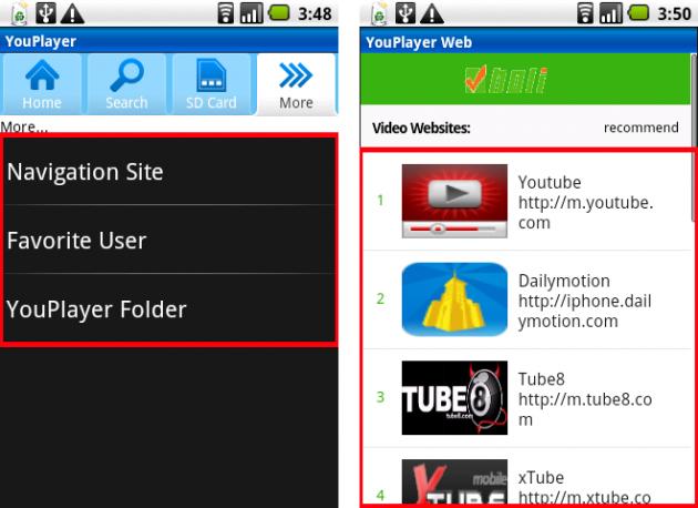 メディアプレーヤー YouPlayer:YouTube以外にも面白そうな動画サイトがズラリ!!!