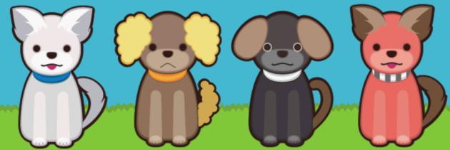 イヌのせいかつ:アバターのデザインはあなた次第