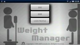 体重管理くん:ポップアートを思わせるUIデザインがGOOD