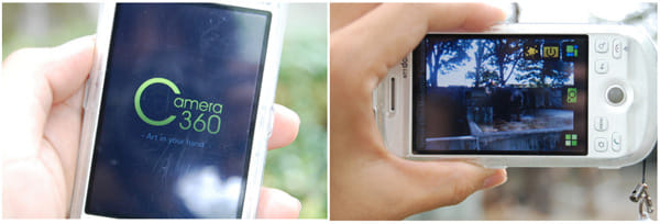 『Camera360』様々なモードを楽しめるカメラアプリ