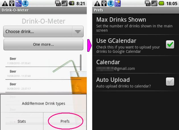 Drink-O-Meter: Googleカレンダーへ酒歴を反映しよう