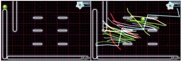 Space Physics:レベル48の画面
