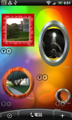 Androidlet Photo Widget: ホーム画面で写真鑑賞をしよう。