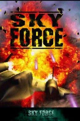 Sky Force:起動画面