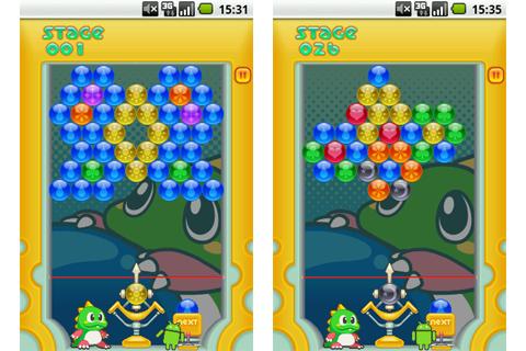パズルボブル:パズルモード紹介(ステージ1、26)