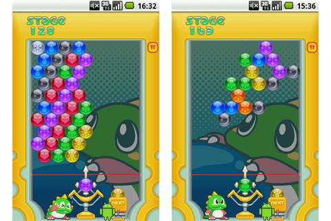 パズルボブル:パズルモード紹介(ステージ128、163)