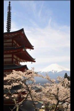 しあわせパワースポット:新倉浅間神社/山梨県の画像