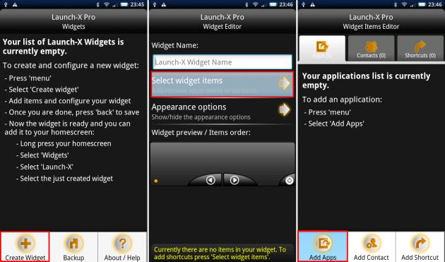 Launch-X Pro: 簡単な英語さえわかれば、後は感覚的に利用できます