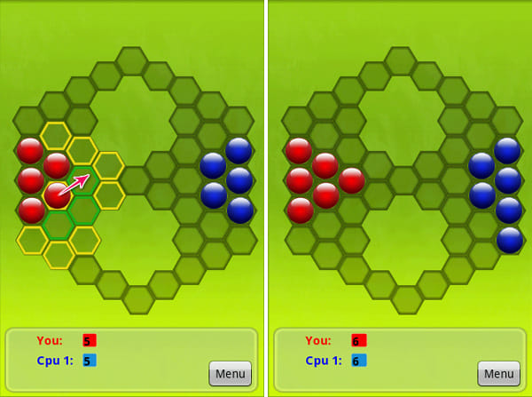Pobs:緑色の枠(隣接した場所)へはPobをコピーできる
