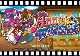 Annie's Wild Shot:タイトル画面