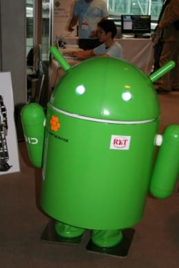 「Google Developer Day 2010」Android OSで動くロボットも展示