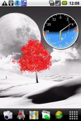 TerraTime: 太陽と月の運行が一目で把握できる