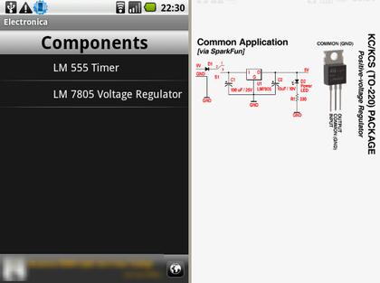 図11. Electronica 部品のリファレンス1
